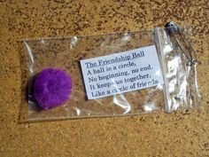 Have a troop and dont know what to do with them? Try the Friendship Ball SWAP Kit! Great idea for girls to learn what SWAPS are (Special