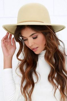 486e25def32 ... and they re guaranteed to be stylish if you pack the Brixton Tiller  Cream Hat! Chic