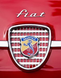 Vintage Fiat Emblem by Jill Reger