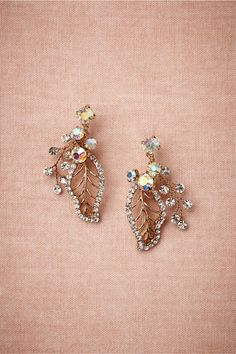 Floriculture Earrings from BHLDN