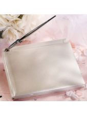Pearl White Wedding Guest Book-Wedding Guest Books-Weddings-Party City