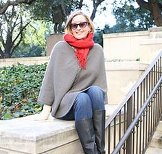 Ravelry: Rodeo Drive Poncho pattern by Staci Perry