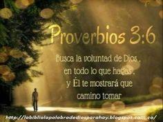 La Biblia La Palabra De Dios Para Hoy: Proverbios Bíblicos de amor-Proverbios-3-6