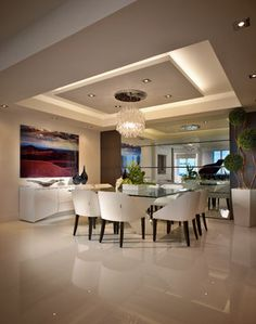 Contemporary Private Residence Palm Beach County - contemporary - dining room - miami - Interiors by Steven G