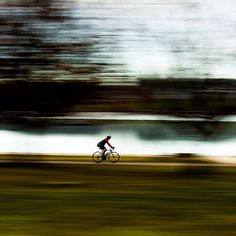 This incredible photo of a cyclist riding past Canberra's Lake Burley Griffin was captured by Instagrammer damianbreach!