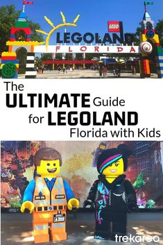 It's time to hit the park and explore LEGOLAND Florida! With 150 acres of fun, families and fans of LEGOS will love this theme park.