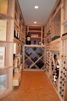 Residential Wine Cellar Builders California Wine Rack Design