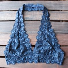 halter lace bralette (7 colors) - shophearts - 1