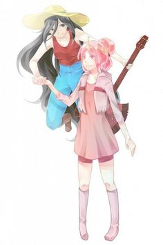 Marceline and P B