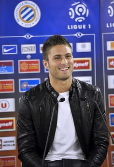 Olivier Giroud - when he was at Montpellier. Parfait!