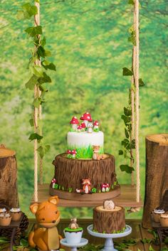 Enchanted Forest Birthday Party on Kara's Party Ideas | KarasPartyIdeas.com (53)