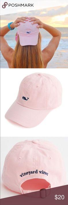 a9d721b740b vineyard vines • light blush pink baseball cap 100% Authentic. New  condition.
