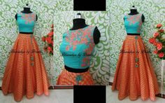 Diy lehenga. Colours!