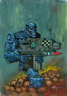 The Terminator Comic Art