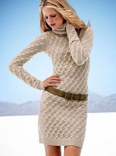 Bayan Örgü Elbise Modelleri | Hobi Örnekleri