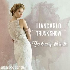 Liancarlo Trunk Show – This Weekend
