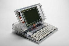 Apple Macintosh Backlit Portable Clear Case Prototype | Flickr - Photo Sharing!