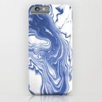 Iwao - Indigo Blue Monoc… iPhone 6 Slim Case