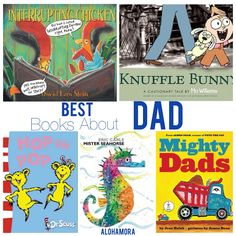 Alohamora: Open a Book: The 5  Best DAD Books aka  The Best Books About DAD.  5 fabulous picture books that are funny, humorous, and showcase how fun, wonderful, and amazing Dads really are.  These children books, for toddlers up to elementary school kids, make great read alouds.  They are the perfect this Father's Day or any day, and make for great gifts.  Alohamora Open a Book http://www.alohamoraopenabook.blogspot.com/ books, parents, teachers, read aloud, funny, rhyming, begining readers
