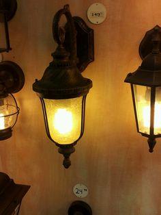 עוד מנורה למרפסת. Ace
