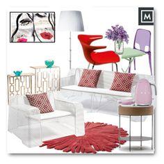 """Mobilificio Marchese"" by edy321 ❤ liked on Polyvore featuring interior, interiors, interior design, home, home decor, interior decorating, Nodus, EMU Australia, Oliver Gal Artist Co. and Smeg"