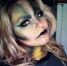 Schlangen Kostüm selber machen | Kostüm Idee zu Karneval, Halloween & Fasching