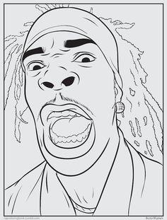 Bun B's Jumbo Coloring and Rap Activity Book