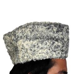 Kashmiri White Karakul Cap (Thez Dewar)