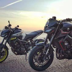Yamaha Fz 09, Yamaha Motorcycles, Cars And Motorcycles, Mt 15, Motorcycle Gear, Raiders, Motorbikes, Sushi, Sausage