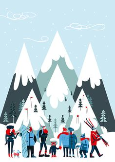 Which New England Ski Mountain is right for you? on Behance