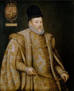 King Filipe I (Philip I) of Portugal (1581-1598) & II of Spain, 1st Habsburg to do so-portrait by Alonso Sanchez