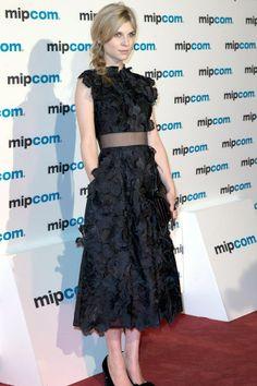 Clémence Poésy in an Erdem autumn/winter 2013 dress.  ooorrrrrhh mmaaawwwww gaawwwddd this is so Beautiful!