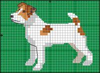Jack Russell Terrier Knitting Blogs, Knitting Patterns, Embroidery Art, Embroidery Patterns, Crochet Chart, Crochet Rope, Chrochet, Cross Stitch Designs, Cross Stitch Patterns