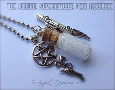 The ORIGINAL Supernatural Mojo Necklace SPN Jewelry with by AngelQ