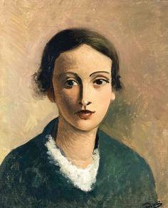 bofransson:  André Derain (1880-1954) Tête de jeune fille