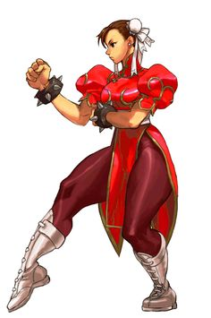 Calibur's Fighting Game Gallery — SFIII 3rd Strike HD Chun-Li Recolor Recolor made...