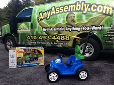 A ride-on car will be a great addition to the collection of toys in your house. AnyAssembly will assemble it for your child! Furniture Assembly, New Parents, Kids Toys, Catering, Children, Cozy, Fun, House, Collection