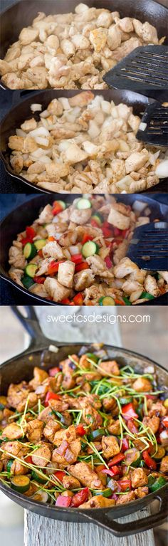 gluten free paleo asian chicken stir fry - just 15 minutes to a healthy, filling meal!