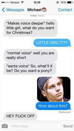 Imagine 5sos, Michael Clifford text