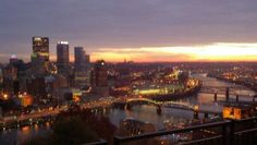 @WPXI_Lori: Sunrise in Pittsburgh, Pa.