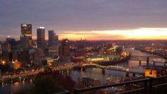 @WPXI_Lori: Sunrise in Pittsburgh, Pa.