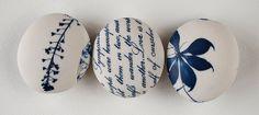 Pebbles by ceramic artist Clare Mahoney