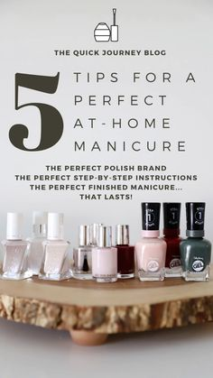 Gel Manicure At Home, Manicure Tips, Gel Nails, Home Spa, Step By Step Instructions, Diy Tutorial, You Nailed It, Easy Diy, How To Apply