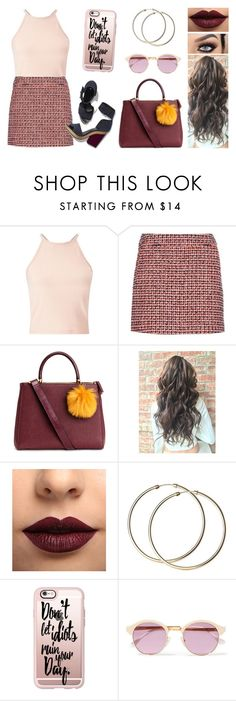 """Dopo il secondo allenamento vado da mia mamma"" by nena69 ❤ liked on Polyvore featuring Miss Selfridge, dVb Victoria Beckham, Pierre Hardy, LASplash, Casetify and Sheriff&Cherry"