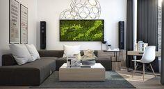 Majestueux mur v g tal tableau cadre mur v g tal - Cadre vegetal mural ...