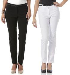 Women's Pants, Stretch Pants, Slacks, Corduroy, All Star, Stretches, Pants For Women, Black Jeans, Belt