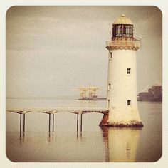 Lighthouse on the River Shannon