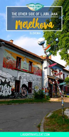Metelkova is the alternative side of Ljubljana. With quirky street art based in a former military barracks, it's worth a visit