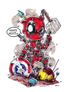 Chibi Deadpool - Who's Next?!