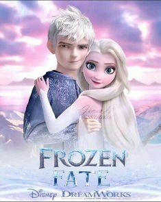 Jelsa, Disney Love Stories, Disney Ships, Gravity Falls Comics, Jack Frost And Elsa, Sailor Princess, Disney Images, Modern Disney, Disney Couples